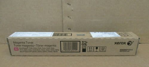 Genuine Xerox 006R01511 Magenta Toner Work Centre 7545 7556 7830 7835 7845 7855